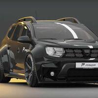 El Renault Duster recibe, por algún motivo, un atuendo Widebody y parece estar listo para las carreras