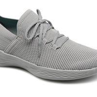 40% de descuento en las zapatillas deportivas en gris Skechers You-Spirit: ahora cuestan 38,90 euros en Sarenza