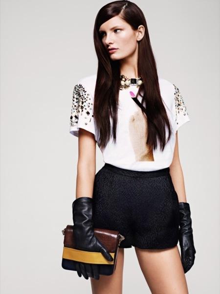 Adelanto de la colección otoño-invierno 2012 de H&M