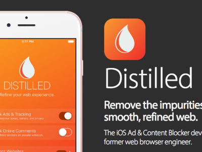 Distilled, el bloqueador de anuncios para iOS 9 que va un poco más allá