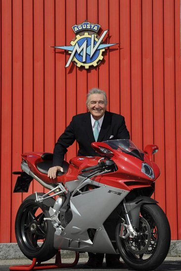 Claudio Castiglioni con su F4
