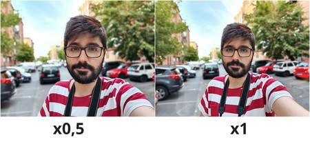Muestra Retrato Selfie