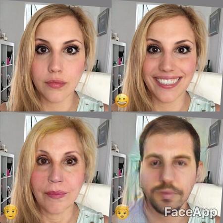 FaceApp: sonríe, envejece o cambia de sexo sin salir de una aplicación