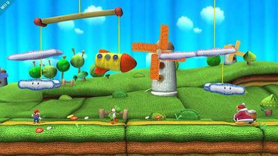 Super Smash Bros. de Wii U tendrá un escenario de Yoshi's Woolly World