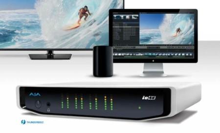 AJA IO 4K, la nueva versión del dispositivo de entrada y salida de AJA con soporte 4K