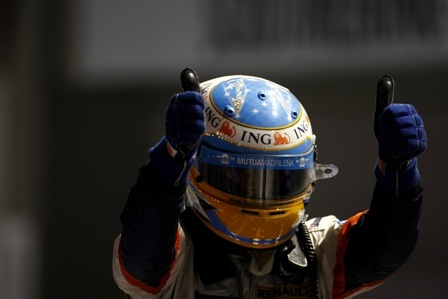 Fernando Alonso espera ser competitivo también en Japón