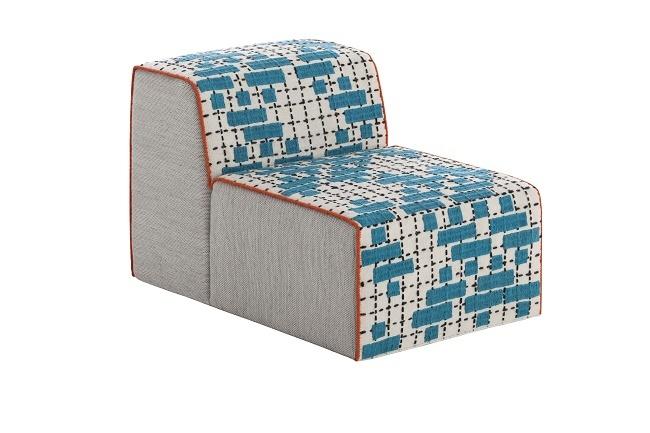 Bandas Chair C Turquoise