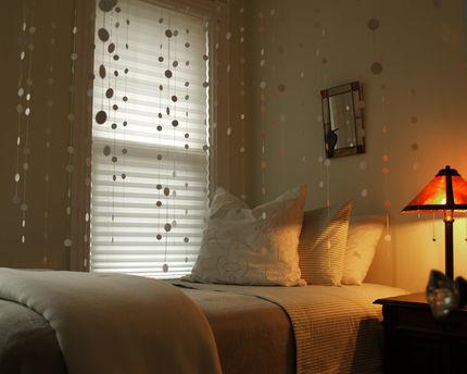Hazlo tú mismo: una cortina con pegatinas