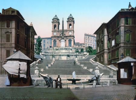 La Escalinata De Plaza Espana