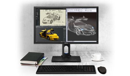 BenQ lanza los monitores BenQ PD2700Q y BenQ PD3200Q enfocados sobre todo al ámbito del diseño