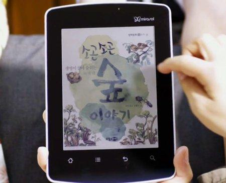 Kyobo estrena Qualcomm Mirasol: el color llega a los libros electrónicos