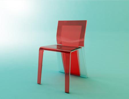 Una silla 2 en 1