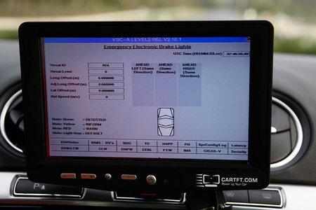 Control de la frenada del coche