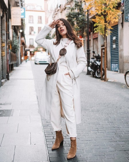 Nadie diría que el abrigo blanco de Primark que triunfa en Instagram (y tiene Paula Echevarría) cuesta menos de 40 euros