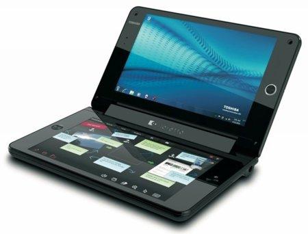 Toshiba Libretto W100, un ultraportátil con doble pantalla táctil