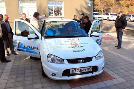 Lada EL, el primer coche eléctrico de AutoVAZ