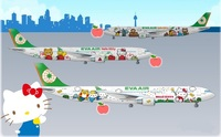 Hello Kitty Jet Airlines, o la experiencia de volar con Hello Kitty