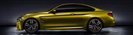 BMW M4 Coupé Concept, filtradas las imágenes oficiales