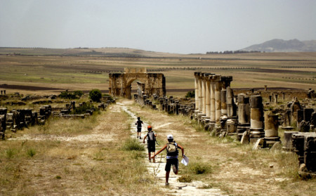 Volubilis Marruecos en time-lapse