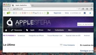 Así es Australis, la nueva interfaz de Mozilla Firefox, en OS X
