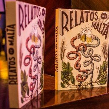 Relatos de malta, el libro sobre cerveza hecho con cerveza