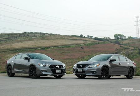Nissan Altima y Maxima Midnight, a prueba: así van los sedanes inspirados en la oscuridad