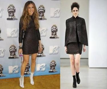 Todas las invitadas a los MTV Movie Awards 2008
