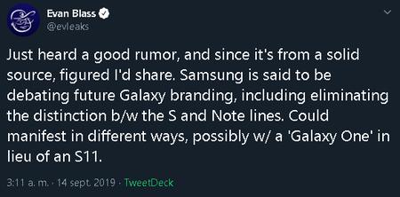 Samsung Galaxy One Rumor Evaleaks