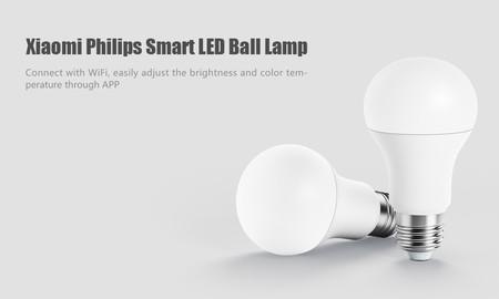 Bombilla inteligente Xiaomi Philips Smart LED Ball Lamp por 8,89 euros y envío gratis