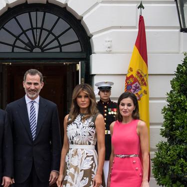 Doña Letizia y Melania Trump: el duelo de estilo más esperado