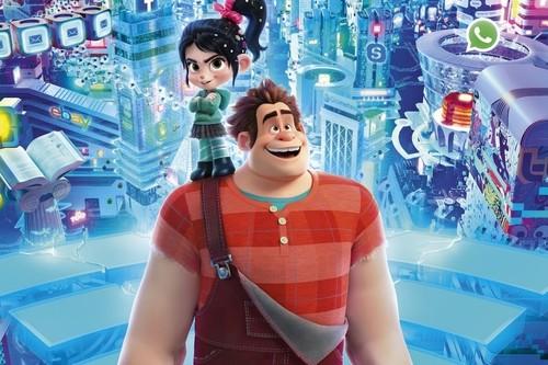 'Ralph rompe Internet' es estupenda: una secuela que no desmerece en nada a la gran primera entrega