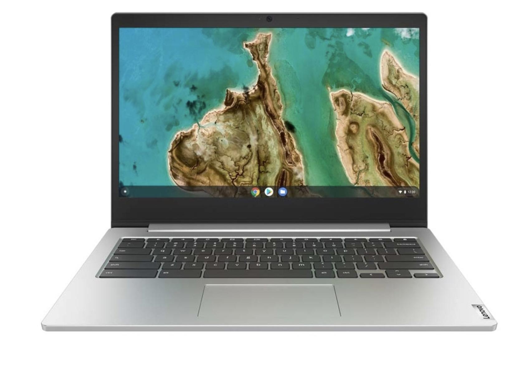 Chromebook portátil Lenovo IdeaPad 3 14IGL05, Intel Celeron, 4GB, 64 GB eMMC