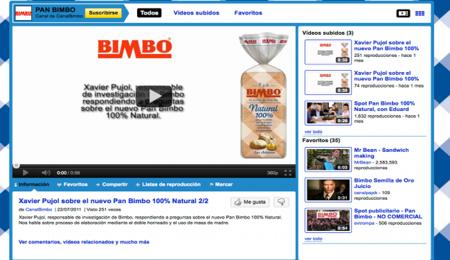 Detalle Canal PanBimbo Youtube