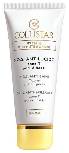 Utiliza el S.O.S. Antibrillo de Collistar encima del maquillaje