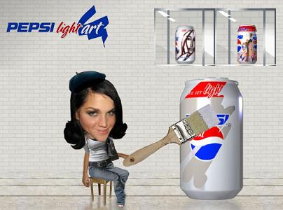 Diseña la nueva lata de Pepsi Light