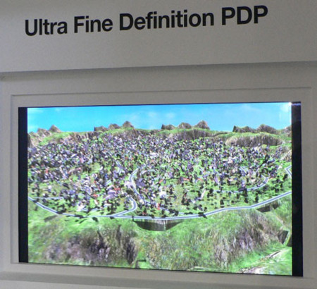 Plasma de 63 pulgadas y resolución 4096x2160 de Samsung
