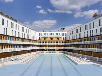 La piscina más bella convertida en hotel spa: Visitamos el Hotel Molitor de París