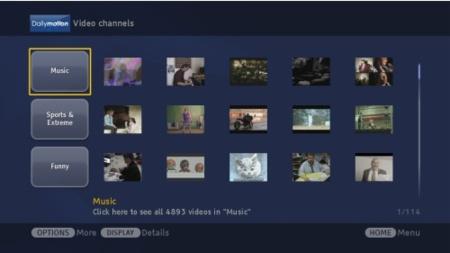 Bravia Internet Video, televisión online en la pantalla del televisor