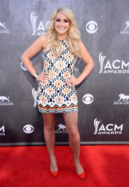 Jamie Lynn Spears Academy of Country Music Awards 2014