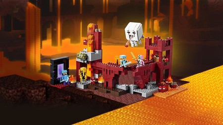 Lego Minecraft Fortalezad Del Infierno 3