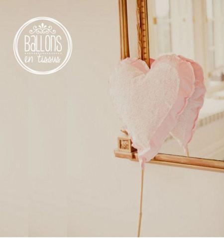 Un DIY para una fiesta o boda de verano: Globos de tela