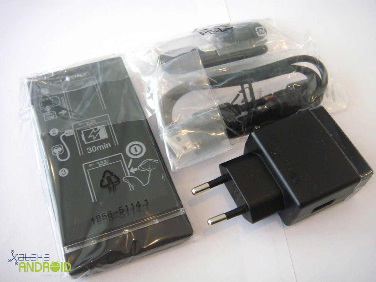 Unboxing Sony Xperia P
