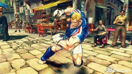 Desvelado otro personaje de 'Street Fighter IV'