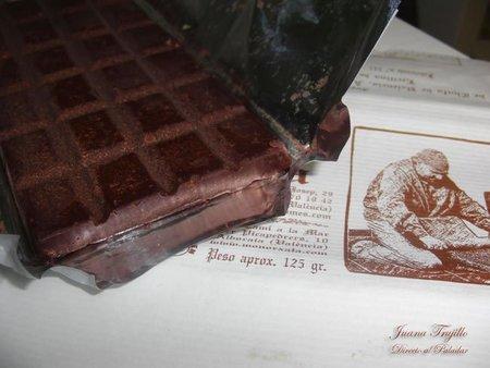 Chocolate de horchata