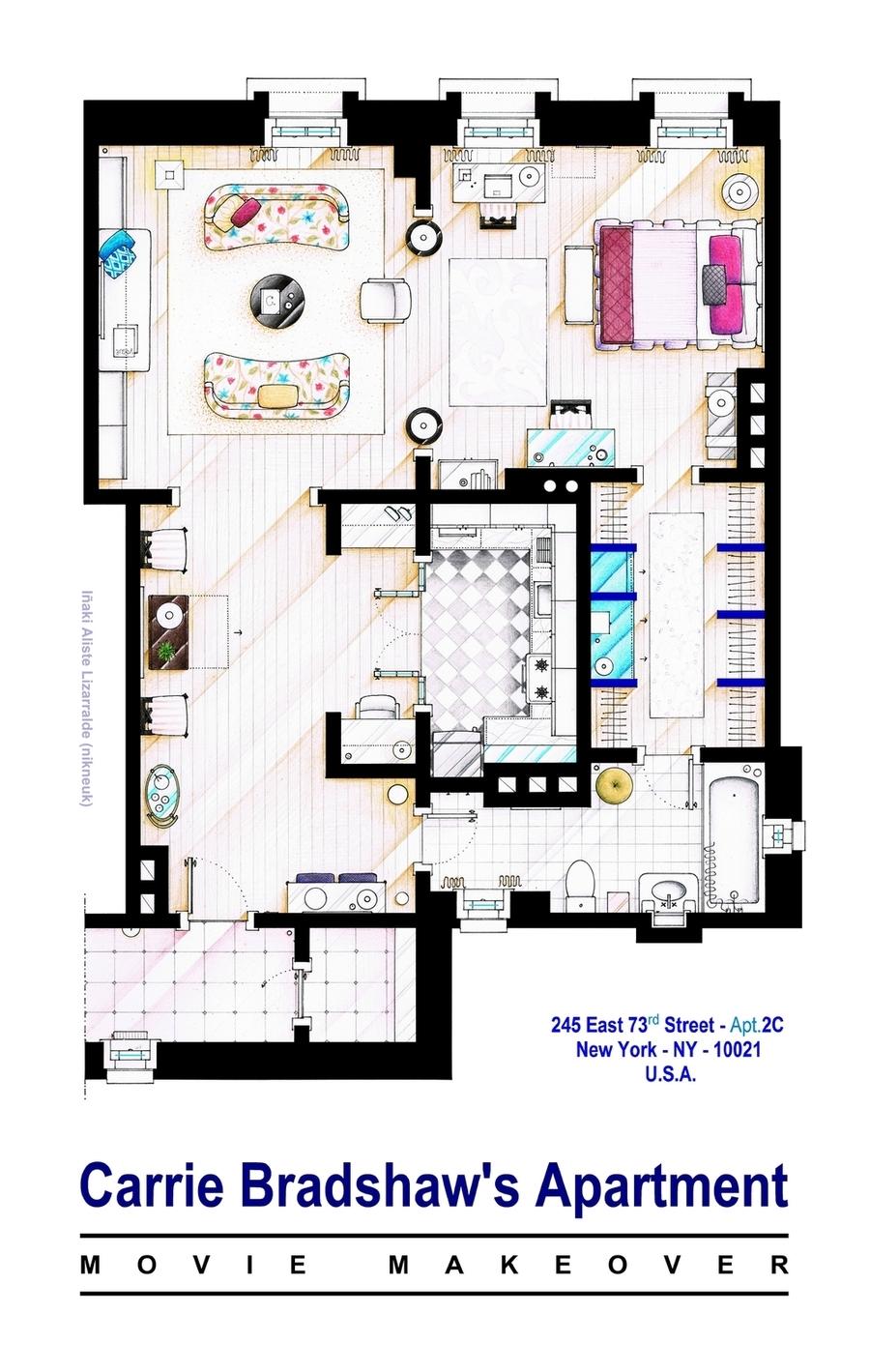 Foto de Planos de apartamentos de series de TV (15/17)