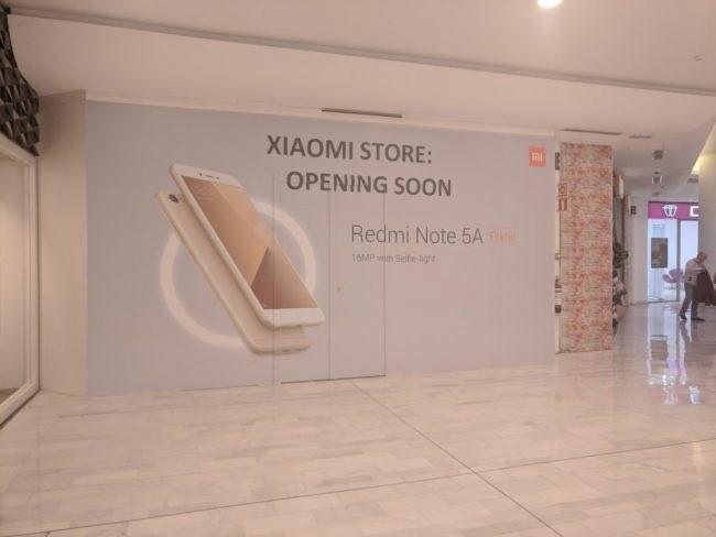 Una de las tiendas de Xiaomi™ en Madrid