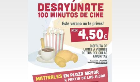 Yelmo Cines oferta sesiones matinales a buen precio en Málaga