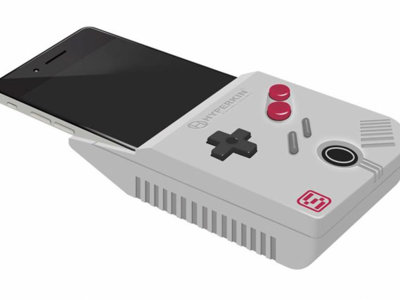 ¿Eras un viciado a la Game Boy? ¿Tienes un iPhone 6 Plus? Hyperkin prepara lo que estabas soñando