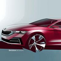 El nuevo Škoda Octavia ya está en camino: aquí están los primeros bocetos de la berlina superventas