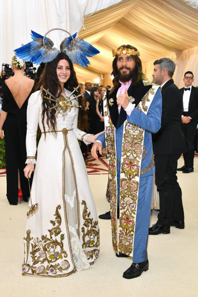 Jared Leto Lana Del Rey Gucci Red Carpet Met Gala X